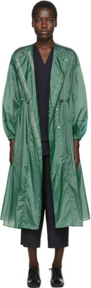 Enfold Green Dress Coat