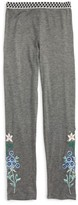 Truly Me Toddler Girl's Embroidered Leggings
