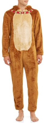 Briefly Stated Men's Moose Lounge Union Suit