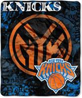 Northwest Company New York Knicks Raschel Shadow Blanket
