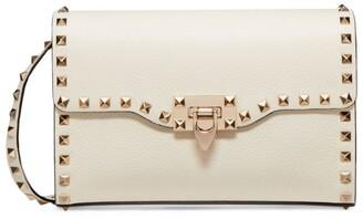 Valentino Garavani Small Leather Rockstud Cross-Body Bag