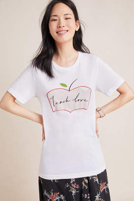 Anthropologie Teach Love x She's the First Graphic Tee