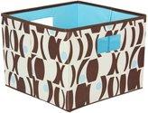 Household Essentials Open Storage Bins, Brown and Blue