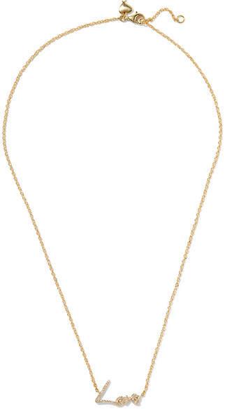 Stephen Webster Tracey Emin Love 18-karat Gold Diamond Necklace