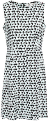 Diane von Furstenberg Carrie Printed Stretch-jersey Mini Dress