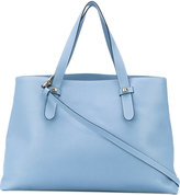 Borbonese classic tote - women - Leather/Polyester - One Size