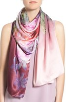 Ted Baker 'Pure Peony' Print Silk Scarf