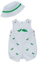 Little Me Boys' Dino Sunsuit & Hat Set - Baby