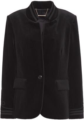 Frame Cotton-blend Velvet Jacket