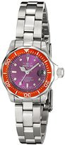 Invicta Women's 11439 Pro Diver Mini Purple Dial Stainless Steel Watch