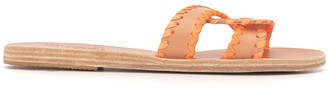 Ancient Greek Sandals Braided Strap Sandals