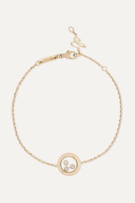 Chopard + Net Sustain Happy Diamonds 18-karat Gold Diamond Bracelet - one size