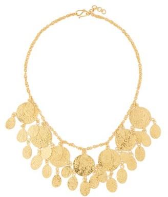 Pippa Small Turquoise Mountain - Mahsa 18kt Gold-plated Choker - Gold