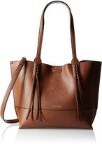 Calvin Klein Reversible Fringe Tote Shoulder Handbag