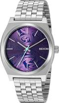 Nixon Men's 'Time Teller, ' Quartz Stainless Steel Automatic Watch, Color:Silver-Toned (Model: A045-230-00)