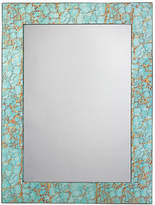 Jamie Young Pebble Oversize Mirror - Turquoise Pebble