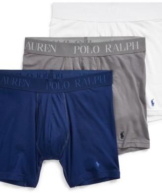 Polo Ralph Lauren Lux 4D-Flex Cotton Modal Boxer Brief 3-Pack