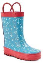 Cherokee Toddler Girl Anchor Rain Boot