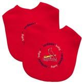 Baby Fanatic MLB Baby Bib 2 pack - St Louis Cardinals