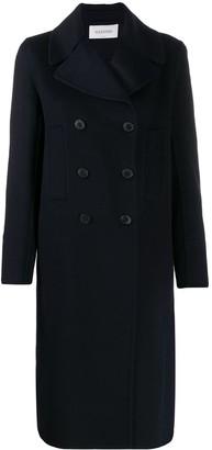 Valentino Cashmere Button-Front Coat