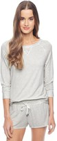 Splendid Lace Trim Pullover