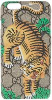 Gucci Bengal tiger iPhone 6+ case - men - Leather - One Size