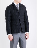 Thom Browne Quilted Wool Twill-down Jacket
