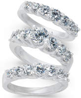 Macy's Diamond 3-Pc. Bridal Set (2 ct. t.w.) in 14k White Gold
