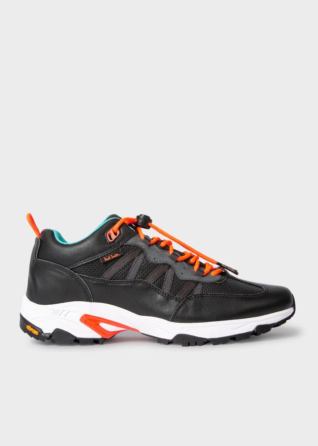 Paul Smith Men's Black 'Roscoe' Sneakers With Vibram Soles