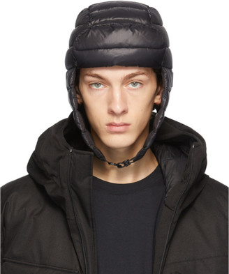 Nobis Black Down Reed Fargo Beanie
