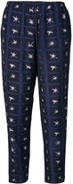 Romeo Gigli Pre Owned 2000's printed trousers