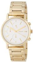 DKNY Women&s Mirror Dial Chronograph Bracelet Watch