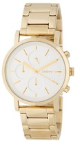 DKNY Women's Mirror Dial Chronograph Bracelet Watch