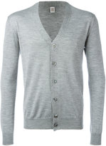 Eleventy v-neck cardigan - men - Silk/Merino - XS