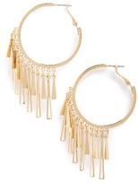 Topshop Women's Stick Hoop Earrings