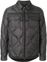 Moncler Stephan jacket - men - Feather Down/Polyamide/Wool - 2