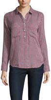 Velvet by Graham & Spencer Cotton Point Collar Shirt