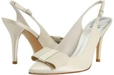 Stuart Weitzman Bridal & Evening Collection - Bocaccio (Ivory Satin) - Footwear