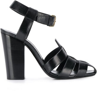 Saint Laurent Chunky Strap 110 Sandals
