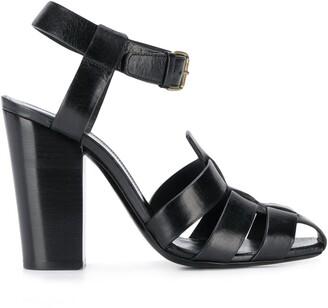 Saint Laurent chunky strap 110 sandals