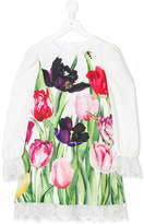 Love Made Love tulip print party dress