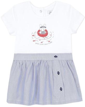 Absorba Baby Girl Dress Marine Blue