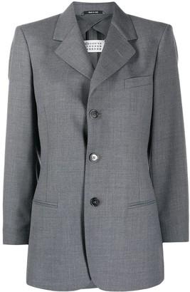 Maison Margiela Notch Collar Single-Breasted Blazer