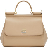Dolce & Gabbana Tan Medium Miss Sicily Bag