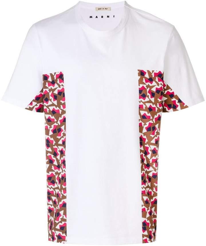 Marni contrast panel T-shirt
