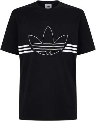 adidas Trefoil Outline T-Shirt