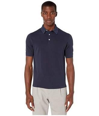 Eleventy High Twist Cotton Polo