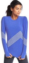 Gap GapFit Breathe print long sleeve tee