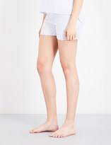 Bodas Striped cotton pyjama shorts