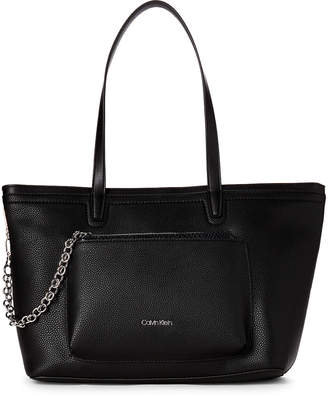 Calvin Klein Beverly Tote with Zip Pouch